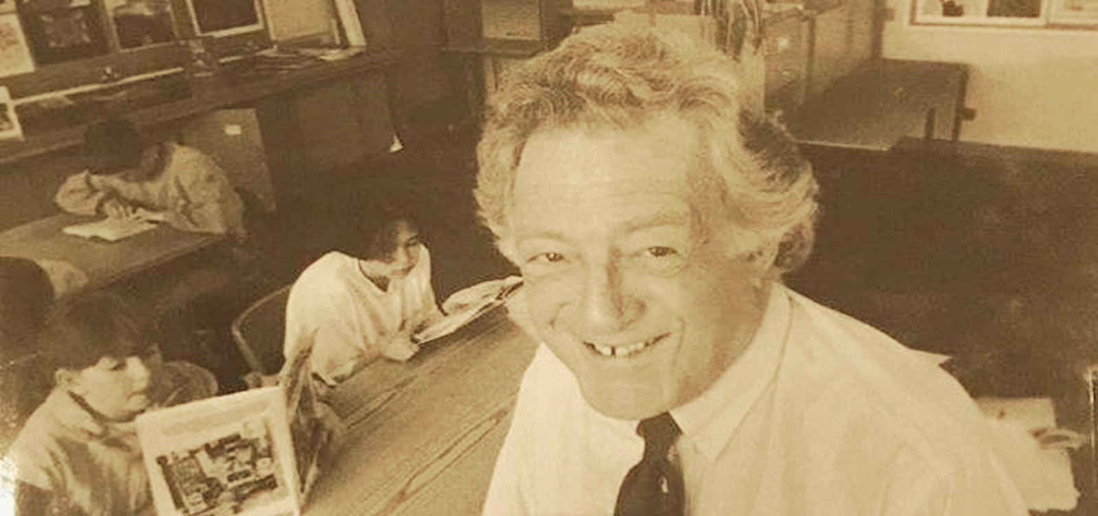 Hugh MacKenzie: a man with big ideas